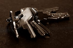 A picture of a bunch of keys, used here to represent security throughout Nottingham, Birmingham, and the wider Midland area