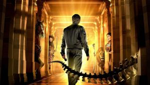 A picture of a poster for Night at the Museum