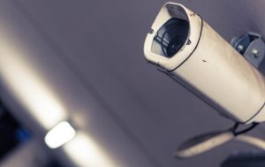 A picture of CCTV cameras, commonly used for office security