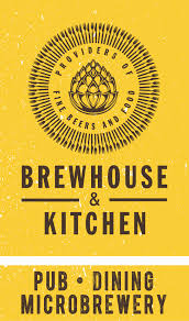 An image of the Brewhouse and Kitchen logo, where Umbrella Security Services have provided security services.