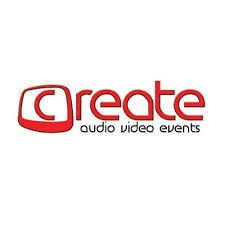An image of the Create Productions logo, an audio and video events company where Umbrella Security Services provide security services.