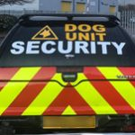 An image of security van, carrying security dogs.