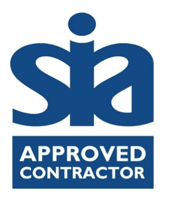 An image of the SIA approved contractor logo.