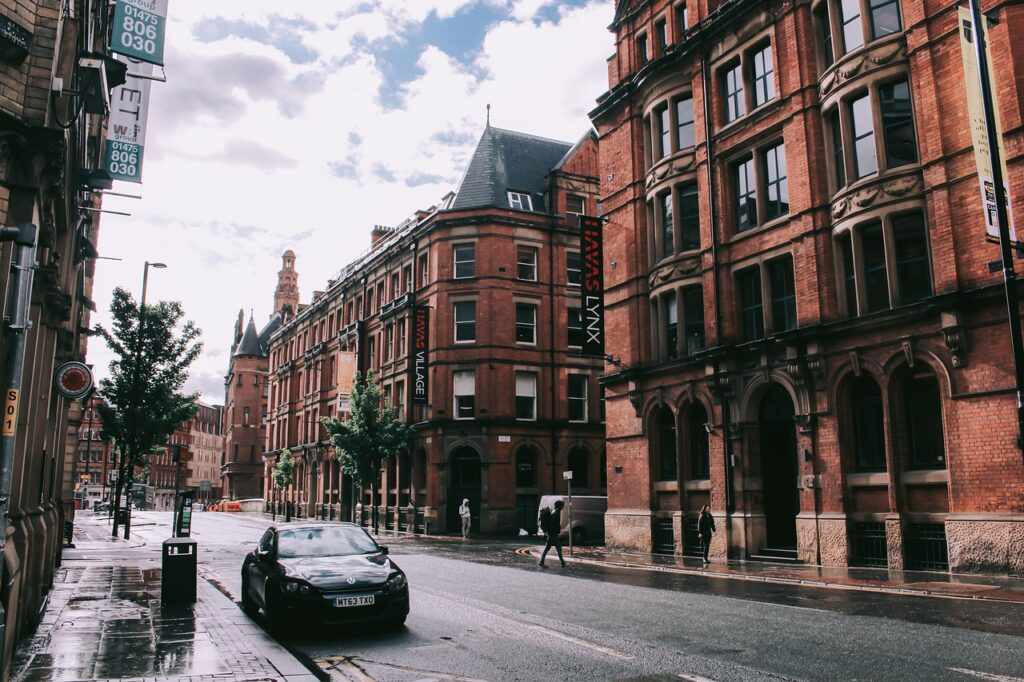 image of a street in manchester