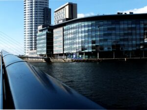 Image of Media City in Manchester